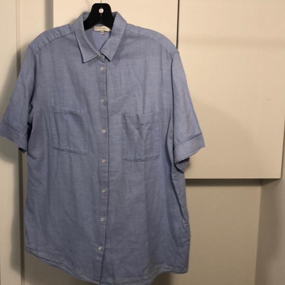 Tibi button up shirt